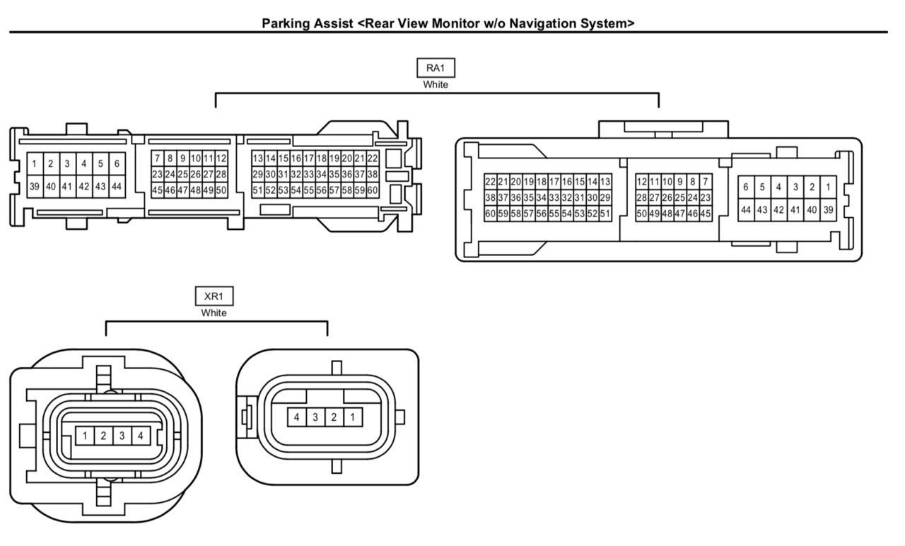Toyota Tundra Backup Camera Wiring Diagram. Toyota. Auto
