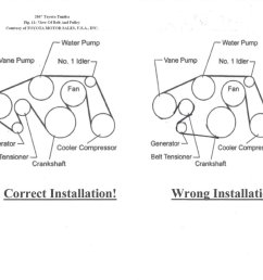 belt diagram for 2008 5 7l tundra toyota tundra forum tundra titan 08 tundra belt diagram [ 1209 x 933 Pixel ]