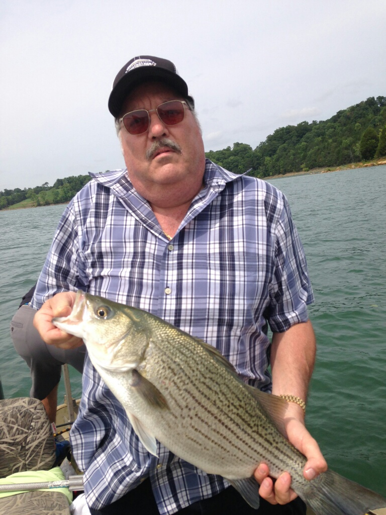 Capt'n Jay Fishing Tour Guide Cherokee Lake Tennessee