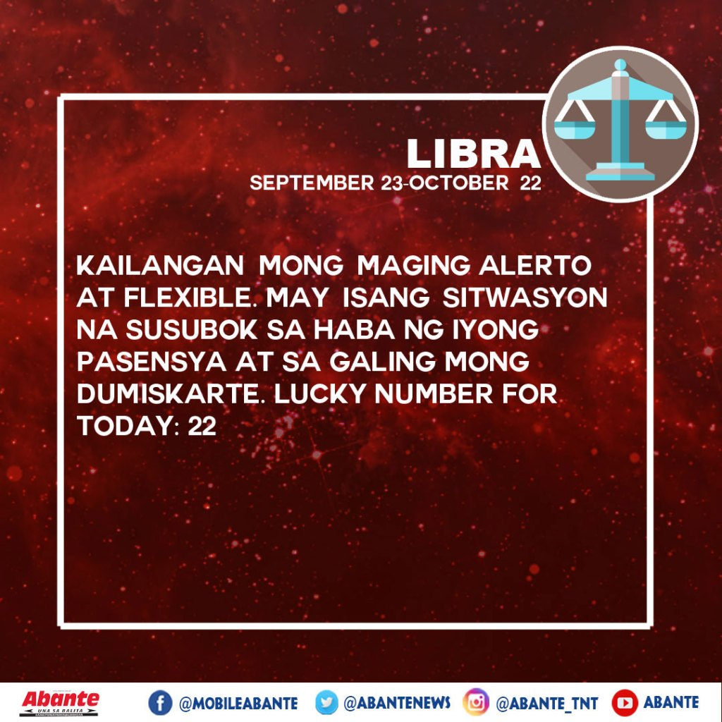 Horoscope 9-30-19