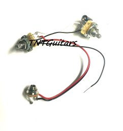 1v1t one pickup wiring harness cts pots prewired harness1v1t one pickup wiring harness cts [ 1500 x 1500 Pixel ]