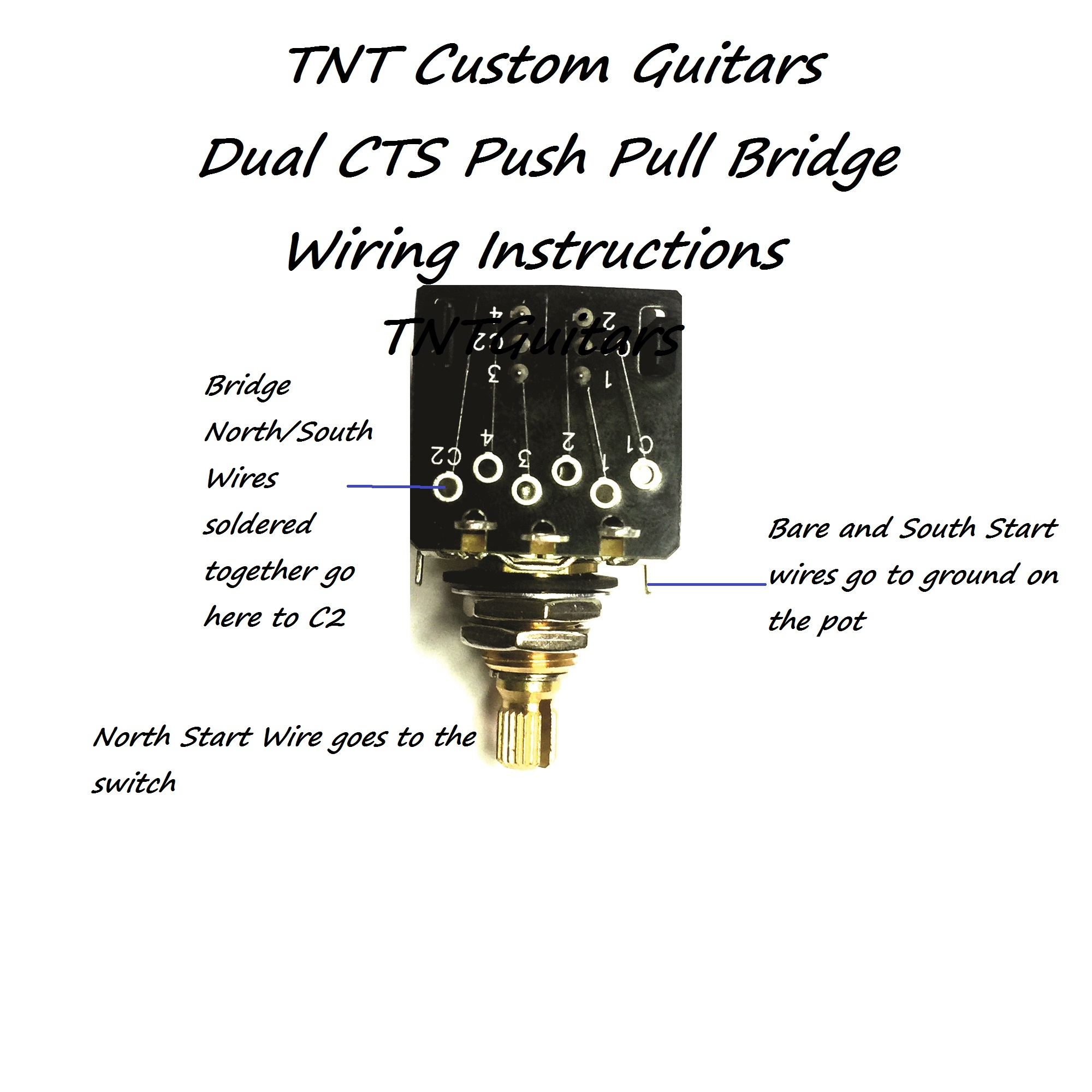 hight resolution of 1v2t prewired harness 2 pickup dual cts push pull coil split 3 way switch