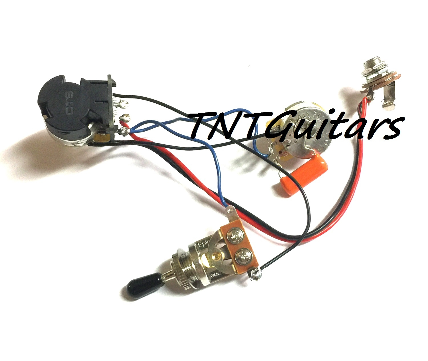 hight resolution of 1v1t guitar vt harness 2 pup cts push pull coilsplit 3wtoggle