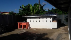 house for sale arouca backyard
