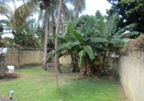 railway road arouca house for sale back yard