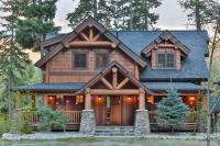 Timber Frame Home Plans - The Big Chief Mountain Lodge