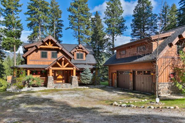 Timber Frame Home Plans - Big Chief Mountain Lodge