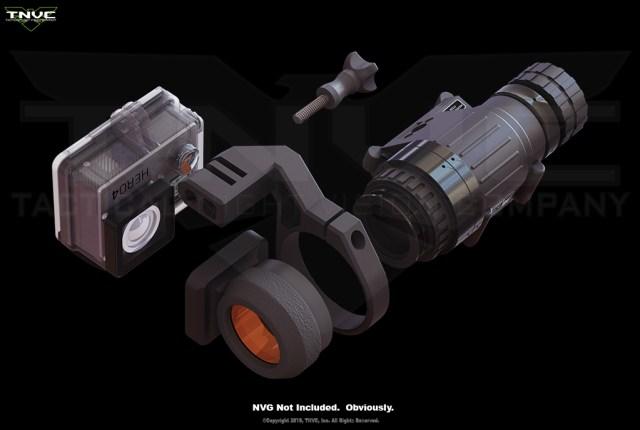 NVG Adapter for GoPro HERO Cameras