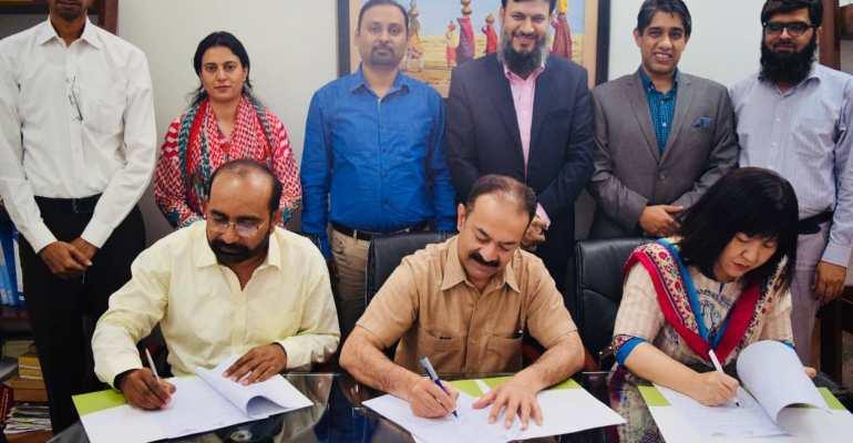 TNW, JICA AQAL and ARC signed LOU