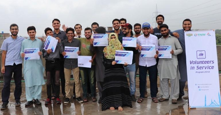 TNW Closing ceremony of 'Volunteer In Service Program 2018'