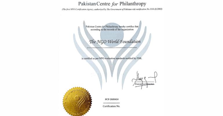 "THE NGO WORLD"" wins PCP accreditation"