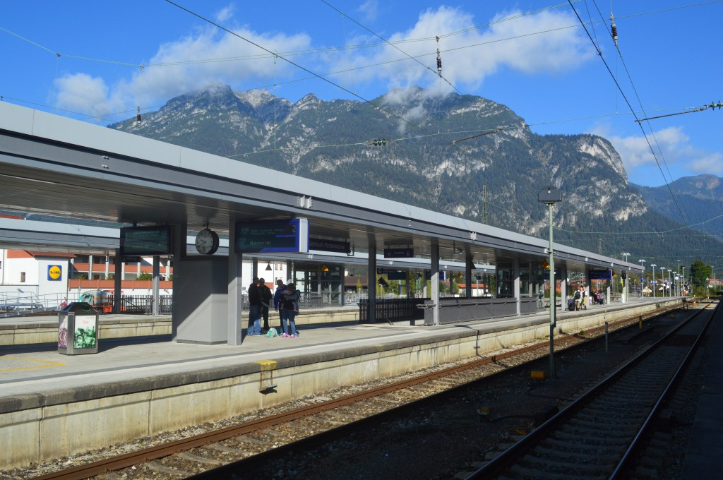 Garmisch-Partenkirchen Main Station
