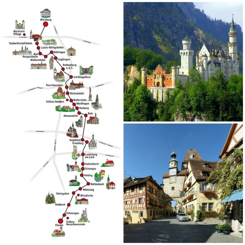 Official Partner of the Romantic Road Asscociation, Dinkelsbuehl/Germany