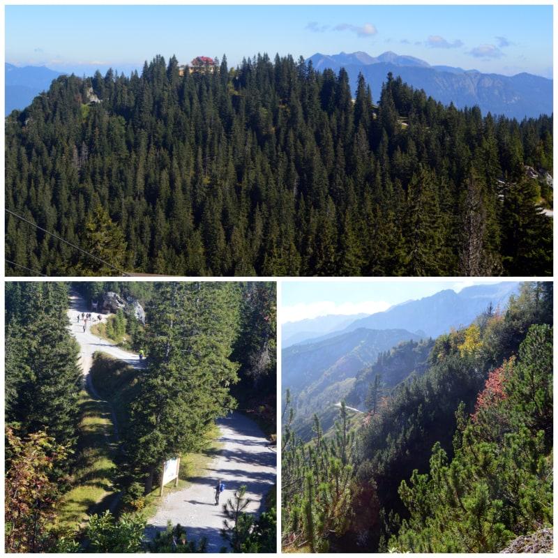 The Alps Zugspitz Daytrip by Rail, Easy walk from Kreutzeck to Hochalm