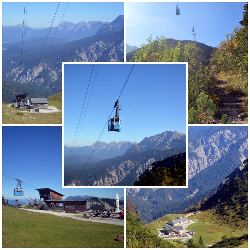 The Alps Zugspitz Daytrip by Rail, Hochalm Cable Car