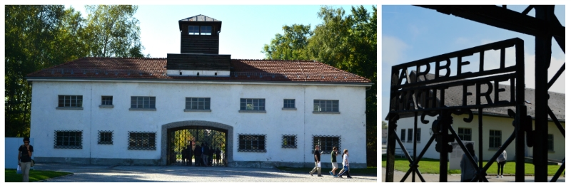 History Rail Tour Third Reich, Entrance of KZ Dachau