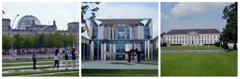 German Classics Rail Circle Tour, Reichstag, German Chancellery, Bellevue Palace