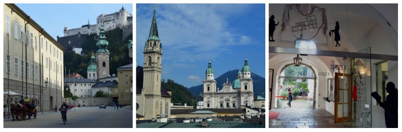 Budapest Rail tour, Impressions Salzburg