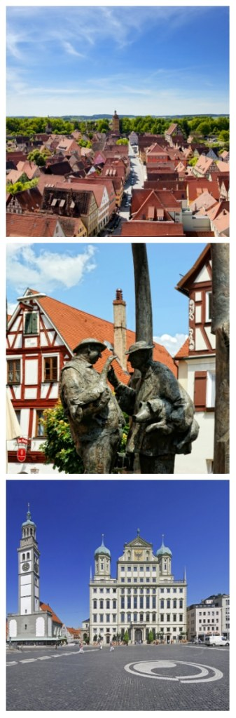 8 Day Bavaria Self-Drive Tour, Dinkelsbuhl, Nordlingen, Augsburg Romantic Road Germany to-europe.com