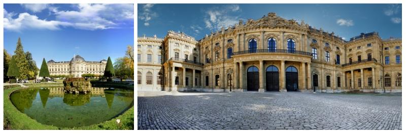 8 Day Bavaria Self-Drive Tour, Wurzburg Residence Germany to-europe.com