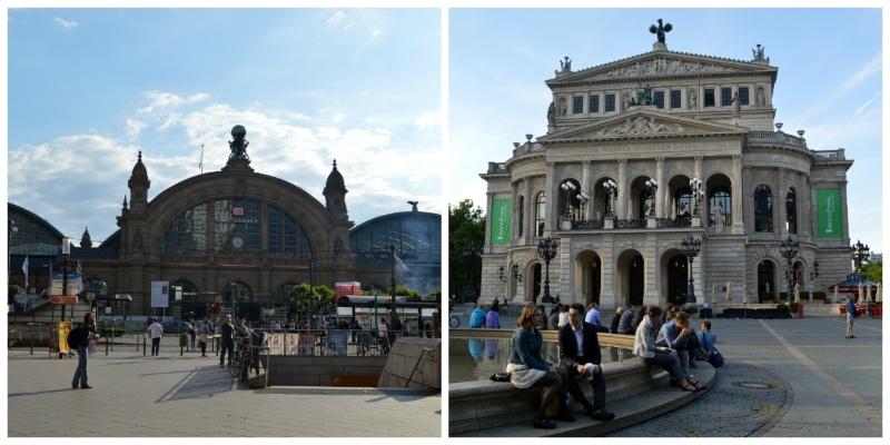 Frankfurt Central Station and Concert Hall Frankfurt Germany to-europe.com