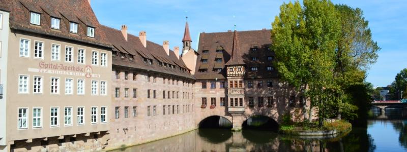 Central Europe budget tour, Heilig Geist Spital Nuremberg Germany to-europe.com