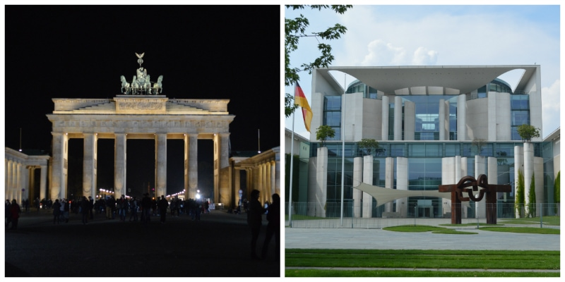 Romantic Fairy Tale Berlin Self-Drive Tour, Brandenburg Gate and German Chancellery Berlin Germany to-europe.com