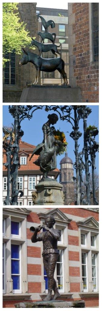 German Fairy Tale Rail Circle Tour, Bremer Town Musicans, Ganseliesl Gottingen, Pied Piper Hamelin Germany to-europe.com