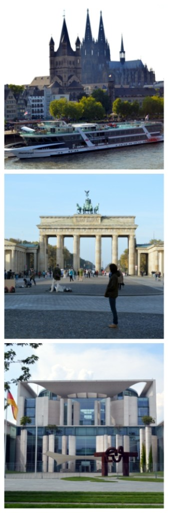imperial cities rail circle tour, Cologne Cathedral, Brandenburg Gate and German Chancellery Berlin Germany to-europe.com