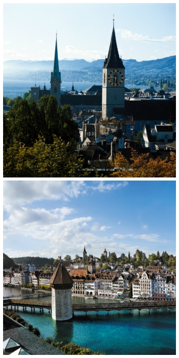 Germany & Switzerland Rail Circle Tour
