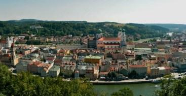 View of Passau Germany to-europe.com