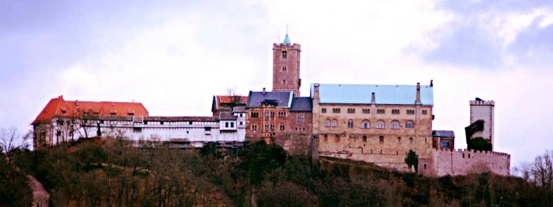 Luther Rail Tour Berlin Frankfurt, Wartburg Castle Eisenach Germany to-europe.com