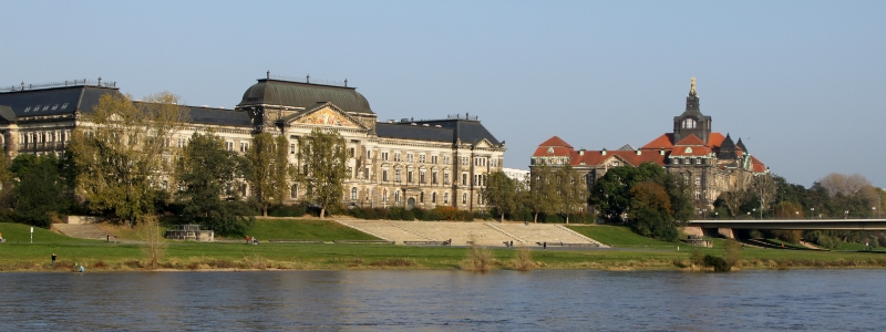 Rhine River cruise, Saxon State Ministry and Saxon State Chancellery Dresden Germany to-europe.com
