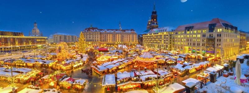 Christmas Market ( Striezelmarkt ) in Dresden Germany to-europe.com