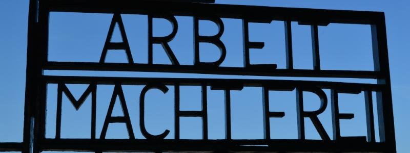 Sachsenhausen Memorial Site, Entrance Gate Sachsenhausen Memorial Site