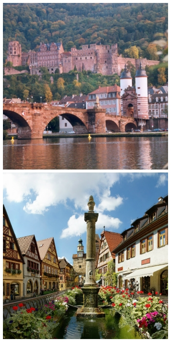 Southern Germany Self-Drive Tour, Heidelberg Castle and Rothenburg ob der Tauber Germany to-europe.com