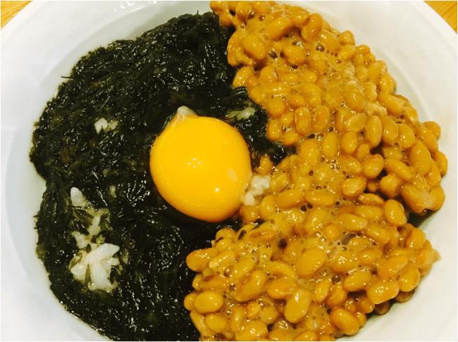 アカモク納豆ネバネバ丼