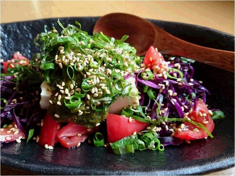 アカモク サラダ