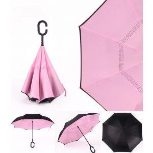 華やかな逆傘
