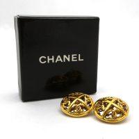 Auth Chanel Earrings Metal 30258 | eBay
