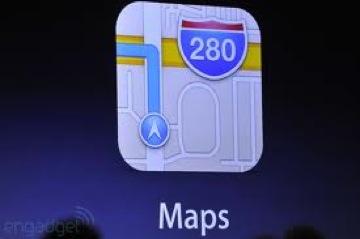 IOS6 map