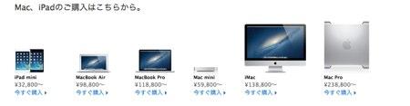 Apple lineup