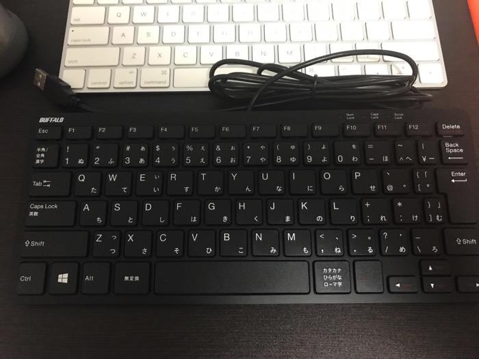 Magic KeyboardのようなWindowsキーボード