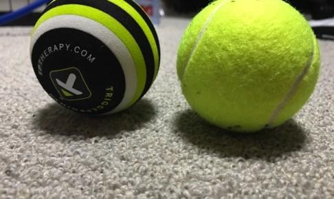 足の裏が痛い足底筋膜炎の人向け筋膜リリース用マッサージボール