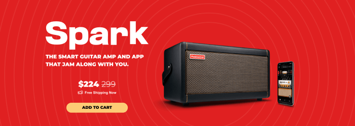 Guitar Amp Smart Practice Guitar Amp Spark Amp and App