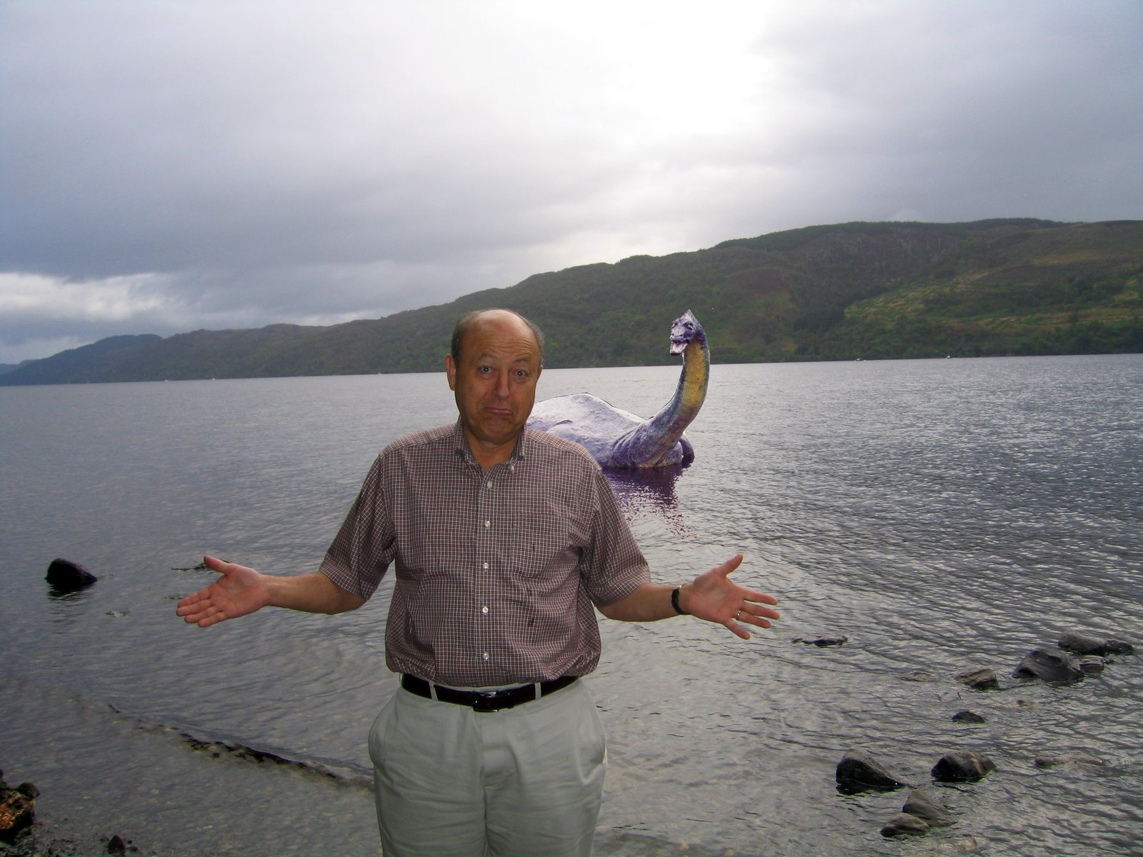 Is The Channel Creature The Loch Ness Monster Video