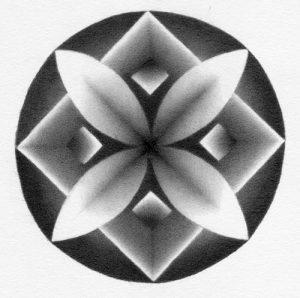 mandala shaded pencil drawing exercise graphite toadhollowstudio