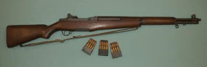 Picture of M1 Garand Rifle
