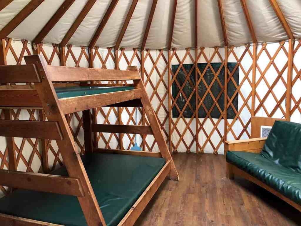 Yurt Camping In Ft Stevens State Park Kid Central On The