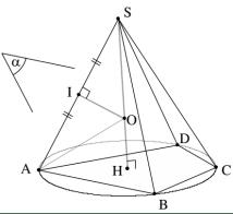 mặt cầu ngoại tiếp - cách xác định tâm